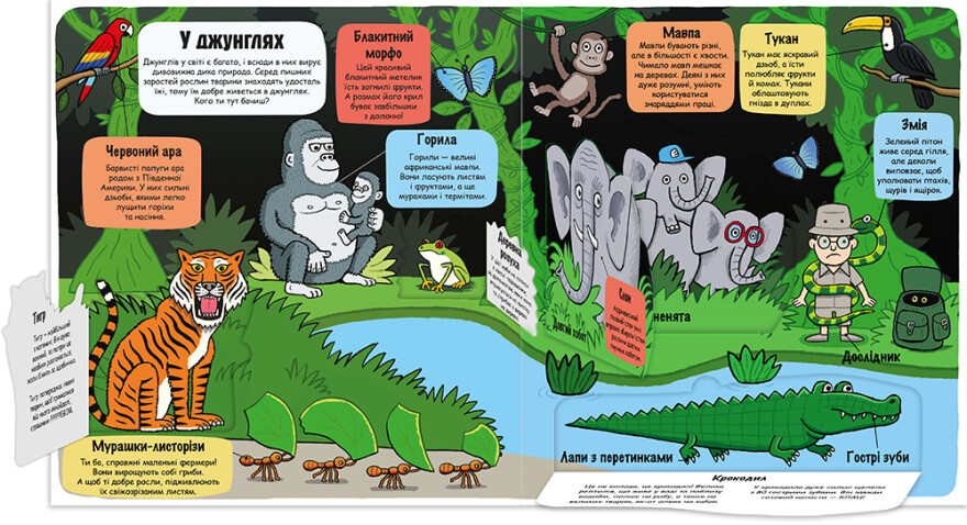 Маленькі дослідники: Світ тварин - #книголав